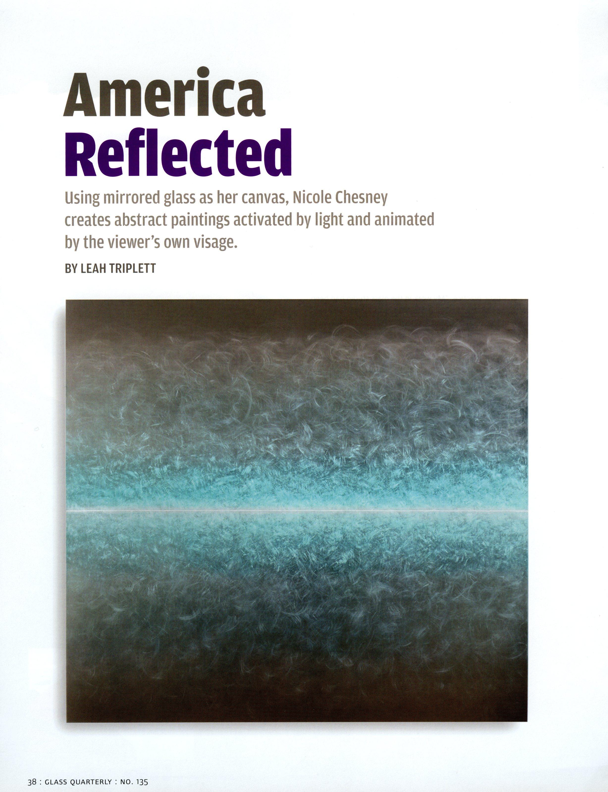 NicoleChesney_AmericaReflected_Glass2014